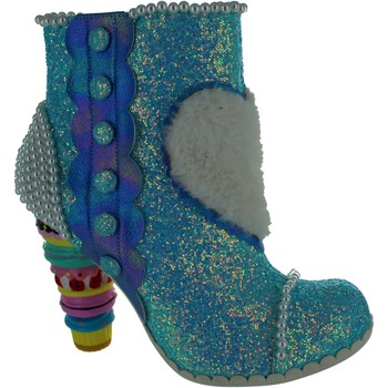 Shoes Women Ankle boots Irregular Choice Bee Delicious Blue