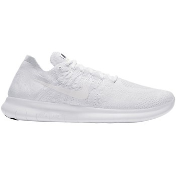 Shoes Men Low top trainers Nike Free RN Flyknit 2017 White
