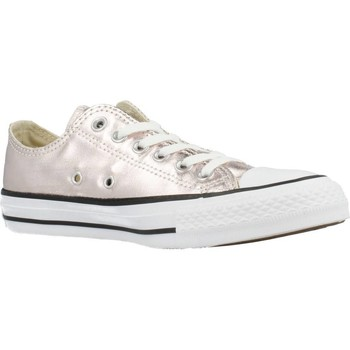 Shoes Women Low top trainers Converse CTAS OX Pink