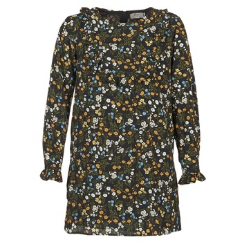 Clothing Women Short Dresses Betty London HOTU Black / Multicoloured