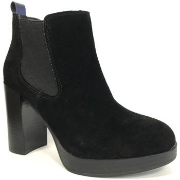 Shoes Women Ankle boots Cassis Côte d'Azur Cassis cote d'azur Bottine Ludivine Noir Black