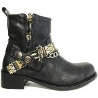Shoes Women Ankle boots Cassis Côte d'Azur Cassis cote d'azur Bottine Lithosy Noir Black