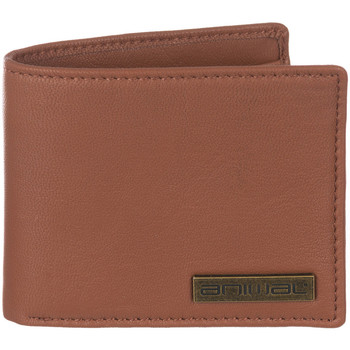 Bags Men Wallets Animal Jeremie Leather Wallet - Tan Brown