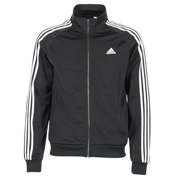 Clothing Men Track tops adidas Originals ESS 3S TTOP TRI Black