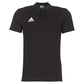 Clothing Men Short-sleeved polo shirts adidas Performance CON18 CO POLO Black