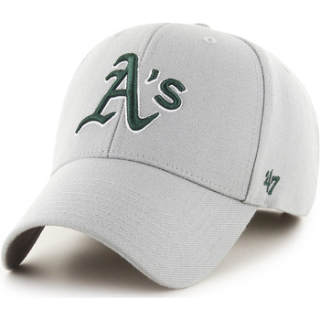 Clothes accessories Men Caps 47 Brand MLB Oakland Athletics MVP Cap - Grey Grey