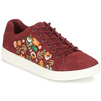 Shoes Women Low top trainers Banana Moon RACLO BORDEAUX