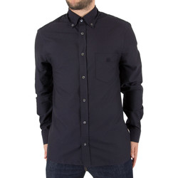 Clothing Men long-sleeved shirts Aquascutum Men's Bevan Classic Oxford Shirt, Blue blue