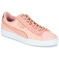 Shoes Women Low top trainers Puma BASKET SATIN EP WN'S Pink