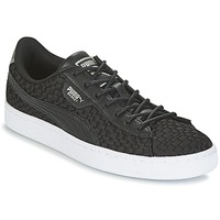 Shoes Women Low top trainers Puma BASKET SATIN EP WN'S Black
