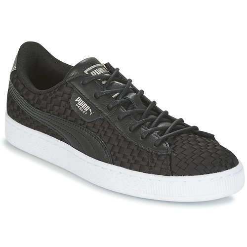 Shoes Women Low top trainers Puma BASKET SATIN EP WN'S Black
