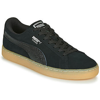 Shoes Women Low top trainers Puma SUEDE CLASSIC BUBBLE W'S Black