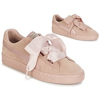 Shoes Women Low top trainers Puma W SUEDE HEART EP Pink