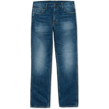 Clothing straight jeans Carhartt WIP Western Pant ii Edgewood Jean Stone wash Blue