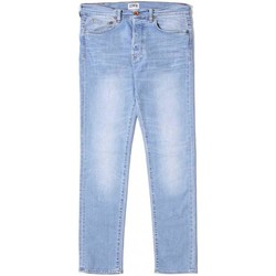 Clothing straight jeans Edwin Jeans Ed-80 Slim Tapered  Light Trip Used Light Blue