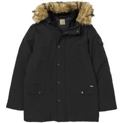 Clothing Women Jackets Carhartt Anchorage Parka Jacket Black