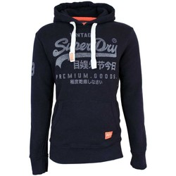 Clothing sweaters Superdry Premium Goods Pull Over Hoodie Navy