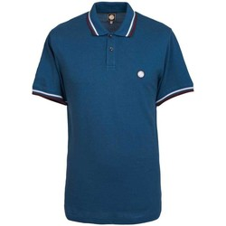 Clothing short-sleeved polo shirts Pretty Green Mens SS Polo shirt Blue