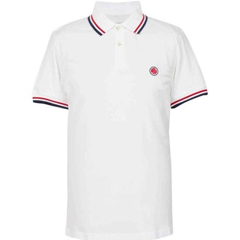 Clothing short-sleeved polo shirts Pretty Green SS Tipped Polo Shirt White