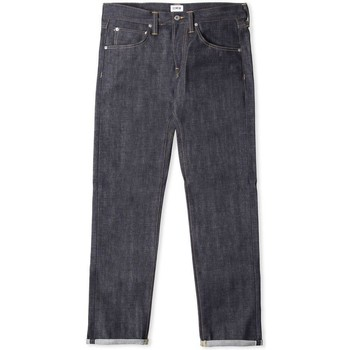 Clothing Men straight jeans Edwin Jeans Edwin ED-55 Jeans Red Listed Selvage 14 oz Unwashed Indgio