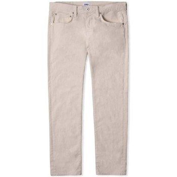 Clothing Men straight jeans Edwin Jeans Edwin ED 55 Regular Tapered Jeans Natural
