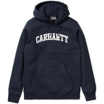 Clothing sweaters Carhartt WIP Yale Hoody Navy