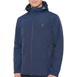 Clothing Macs Farah Newbern Hooded Jacket Navy
