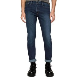 Clothing slim jeans Calvin Klein Jeans Mens Slim Straight Jeans Blue