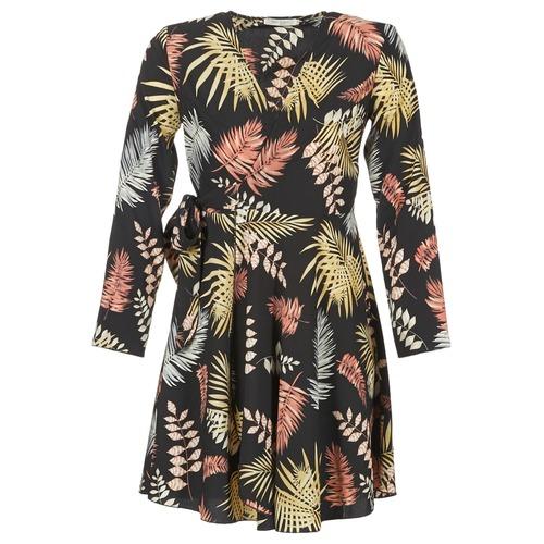 Clothing Women Short Dresses Betty London HYPO Black / Multicoloured