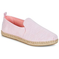 Shoes Women Espadrilles Toms DECONSTRUCTED ALPARGATA ROPE Pink