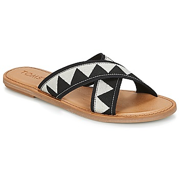 Shoes Women Sandals Toms VIV Black