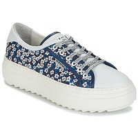 Shoes Women Low top trainers Serafini SOHO Blue