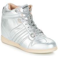 Shoes Women Hi top trainers Serafini MANHATTAN Silver