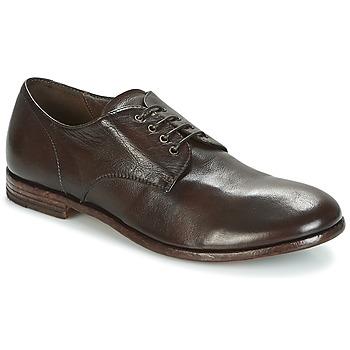 Shoes Men Derby Shoes Moma BUFFALO-TESTA-DI-MORO Brown