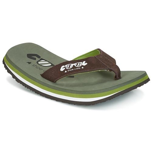 Shoes Men Flip flops Cool shoe ORIGINAL Kaki / Brown