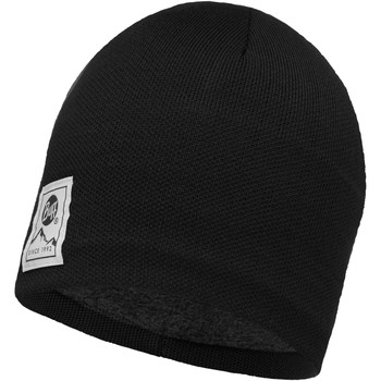 Clothes accessories Hats / Beanies / Bobble hats Buff Solid Knitted Beanie - Black / Grey Vigore Grey