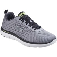 Shoes Men Low top trainers Skechers Flex Advantage 2.0 The Happs Mens Sports Trainers grey