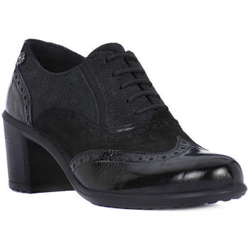 Shoes Women Derby Shoes Enval NAPLAK LIZ NERO Nero