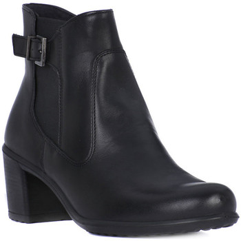Shoes Women Ankle boots Enval NAPPA SOFT Nero