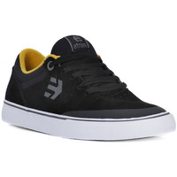 Shoes Men Low top trainers Etnies MARANA VULC BLK YELLOW Nero