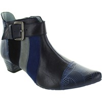 Shoes Women Ankle boots Maciejka Cassandra Navy Leather