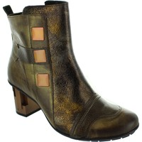 Shoes Women Ankle boots Maciejka Citrix Gold Leather