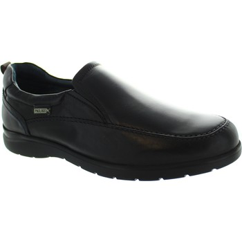 Shoes Men Loafers Pikolinos San Lorenzo M1C-3036 Black