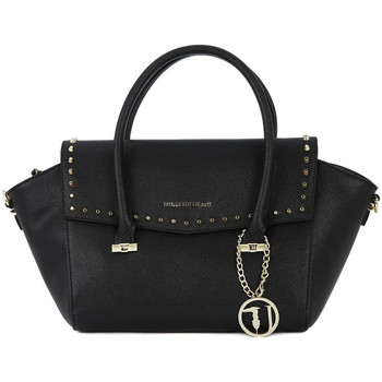 Bags Women Shopping Bags / Baskets Trussardi 299 LEVANTO BLACK Nero
