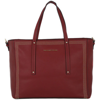 Bags Women Shopping Bags / Baskets Trussardi 290 KUALA BORDEAUX Rosso