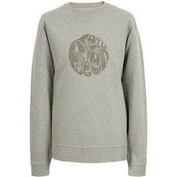 Clothing Women Long sleeved tee-shirts Pretty Green Heyland Crew Neck Sweater Grey
