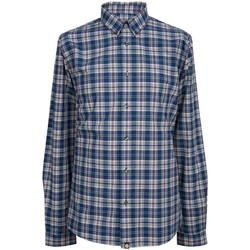 Clothing Women Shirts Pretty Green Tarran Check Shirt Blue