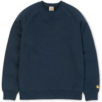 Clothing Women sweaters Carhartt WIP Chase Sweatshirt Navy