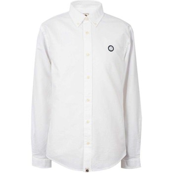 Clothing Women Shirts Pretty Green Mens Oldbury Shirt White