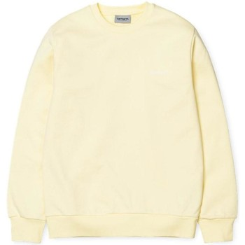 Clothing Women sweaters Carhartt WIP Script Embroidered Sweatshirt Yellow